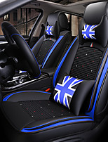cheap -ODEER Car Seat Cushions Seat Covers Black / Blue Textile / Artificial Leather Common for universal All years All Models