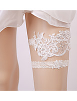 cheap -Lace Accent / Decorative / Wedding Wedding Garter 617 Hollow-out Garters Wedding / Special Occasion