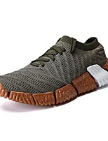 cheap -Men's Mesh / Synthetics Summer Comfort Sneakers Black / Gray / Dark Green