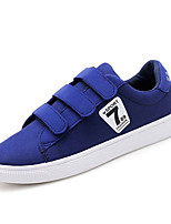 cheap -Men's Light Soles Canvas / PU(Polyurethane) Summer Sneakers Black / Red / Blue