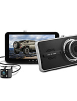 cheap -Blackview 1080p Dual Lens / with Rear Camera Car DVR 150 Degree Wide Angle CMOS Sensor 4 inch IPS Dash Cam with G-Sensor / Parking