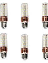abordables -6pcs 16 W 1200 lm E26 / E27 Bombillas LED de Mazorca T 84 Cuentas LED SMD 2835 Nuevo diseño / Decorativa Blanco Cálido / Blanco Fresco 220 V
