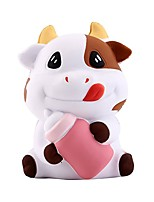cheap -Squeeze Toy / Sensory Toy / Stress Reliever Cow Stress and Anxiety Relief / Decompression Toys Poly urethane 1 pcs Children's All Gift