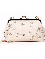 cheap -Women's Bags PU(Polyurethane) Shoulder Bag Lace Green / White / Blushing Pink