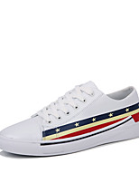 cheap -Men's PU(Polyurethane) Summer Comfort Sneakers White / Black / Red