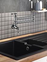 cheap -Kitchen faucet / Bathroom Sink Faucet Chrome Pot Filler Wall Installation