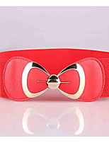 cheap -Women's Street chic Wide Belt - Solid Colored