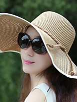 cheap -Women's Active / Holiday Straw Hat - Color Block