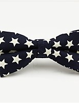 cheap -Men's Party / Basic Cotton / Polyester Bow Tie - Galaxy / Color Block Bow / All Seasons