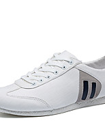 cheap -Men's Shoes Canvas Summer Light Soles Sneakers White / Blue / White / Yellow