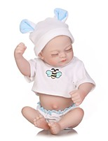 cheap -NPKCOLLECTION Reborn Doll Baby Girl 12 inch Full Body Silicone / Vinyl Kid's Girls' Gift