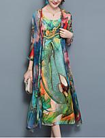 abordables -Mujer Conjunto - Arco iris Vestidos