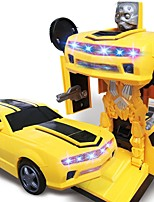 cheap -Toy Car Car / Robot Transformable / Creative / Music & Light Plastic Shell Child's Gift 1 pcs