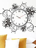 Недорогие -Декоративные наклейки на стены - Простые наклейки Натюрморт Гостиная / Спальня