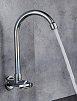 cheap -Kitchen faucet - Contemporary Chrome Standard Spout Wall Mounted