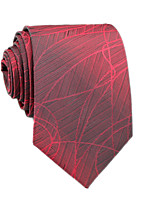 cheap -Men's Work / Basic Cotton / Polyester Necktie - Striped / Color Block / All Seasons