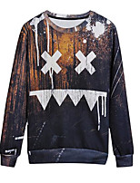 cheap -Men's Street chic Sweatshirt - Color Block