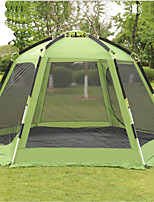 cheap -Shamocamel® 5 - 7 person Screen House Double Layered Automatic Dome Camping Tent Outdoor Rain-Proof, Windproof for Camping / Hiking / Caving >3000 mm Terylene, Aluminium alloy 368*368*190 cm