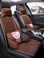 cheap -ODEER Car Seat Cushions Seat Covers Black / Brown Textile / Artificial Leather Common for universal All years All Models