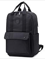 cheap -Women's Bags Nylon Backpack Pattern / Print Black