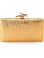 cheap -Women's Bags Polyester Evening Bag Buttons Gold / Black / Silver