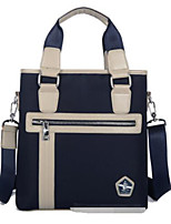 cheap -Men's Bags Oxford Cloth Shoulder Bag Zipper Black / Dark Blue / Brown