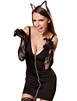 cheap -Women's Babydoll & Slips / Chemises & Gowns / Gartered Lingerie Nightwear - Ruched, Solid Colored