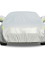 economico -Coppa larga Coperture per auto PEVA / Cotone / Pellicola di alluminio Riflessivo / Barra di avviso For BMW Serie 5 Tutti gli anni For Per