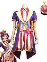 cheap -Inspired by BanG Dream Cosplay Anime Cosplay Costumes Cosplay Suits Other Short Sleeve Coat / Top / Pants For Unisex