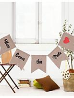 abordables -Mariage / Fête d'anniversaire Mélange Lin / Coton Décorations de Mariage Thème classique / Mariage / Anniversaire Toutes les Saisons