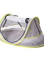 cheap -1 person Beach Tent / Backpacking Tent / Pop up tent Single Camping Tent Outdoor UV resistant, UPF50+, Anti-Mosquito for Beach / Camping / Hiking / Caving <1000 mm Net Fabric 108*65*50 cm