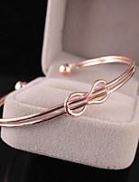 abordables -Femme Ficelle double Manchettes Bracelets - Doux, Mode Bracelet Or / Argent Pour Soirée / Rendez-vous