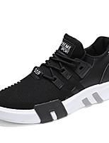 economico -Per uomo Retato Primavera & Autunno Comoda Sneakers Nero / Grigio / Rosso