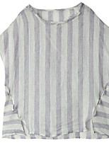 cheap -Women's Going out Blouse - Striped