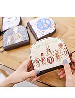 cheap -Unisex Bags PU(Polyurethane) Wallet Pattern / Print Blushing Pink / Beige / Fuchsia