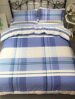 cheap -Duvet Cover Sets Stripes / Ripples 100% Cotton Printed 4 Piece