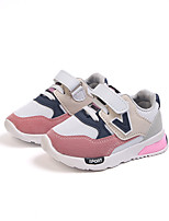cheap -Girls' Shoes Mesh / PU(Polyurethane) Spring & Summer Comfort Athletic Shoes Walking Shoes for Kids Gray / Pink