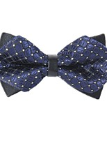 cheap -Men's Party / Basic Cotton / Polyester Bow Tie - Polka Dot / Geometric Criss-Cross / All Seasons