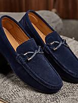 abordables -Homme Chaussures Polyuréthane Eté Confort / Moccasin Mocassins et Chaussons+D6148 Gris / Rouge / Bleu