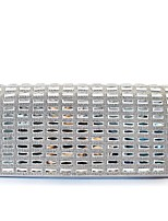 cheap -Women's Bags Glasses Clutch Crystals Silver