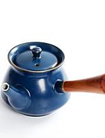 Недорогие -Керамика / Дерево Heatproof / Чайный нерегулярный 1шт чайник