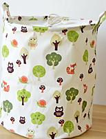 cheap -Storage New Design / Portable / Storage Modern / Contemporary / Fashion Linen / Cotton 1pc Bathroom Decoration