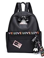 cheap -Women's Bags PU(Polyurethane) Backpack Zipper Black