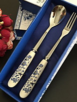 cheap -Dinnerware 1set Heatproof Stainless Steel Teaspoon / Chopsticks 27*3 cm