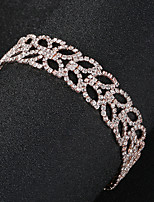Недорогие -Жен. Браслеты-цепочки и звенья - В форме листа европейский, Мода Браслеты Золотой Назначение Свадьба / Повседневные