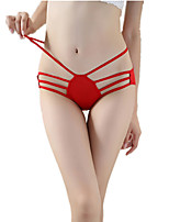 cheap -Women's Seamless Panties Solid Colored Low Waist