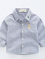 cheap -Kids Boys' Striped Long Sleeve Shirt