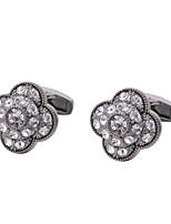 cheap -Geometric Gray Cufflinks Copper Formal / Classic All Costume Jewelry For Wedding