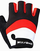 abordables -WOSAWE Demi-doigt Unisexe Gants de moto Maille Respirante Respirable / Antiusure / Antidérapant