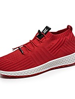 cheap -Men's Shoes Net Summer Comfort Sneakers Black / Gray / Red